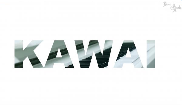 Kawai Piano weiss