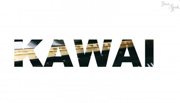 Kawai Piano schwarz