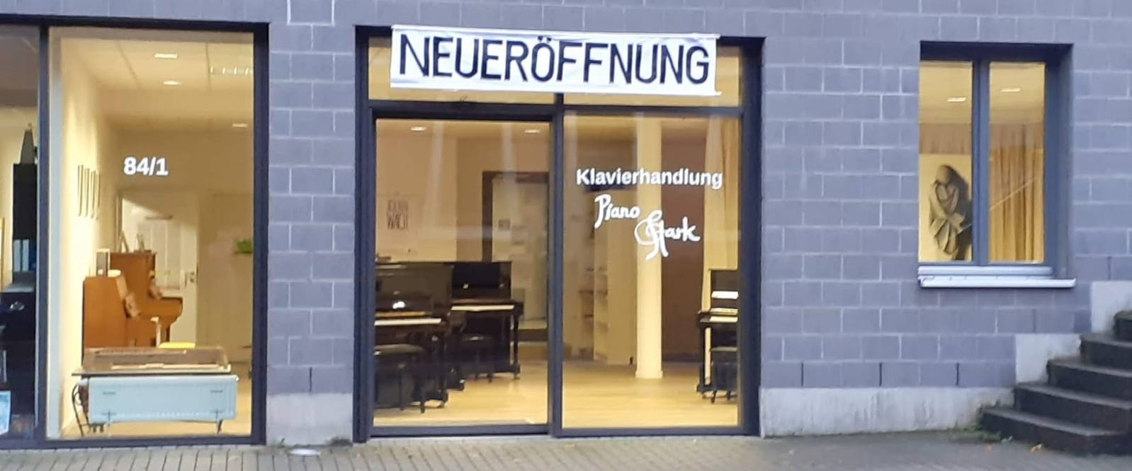 Neueröffnung Klavierladen