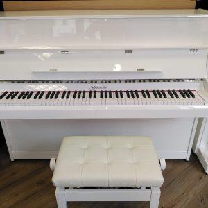 Ritmüller Klavier in weiß von Piano Stark