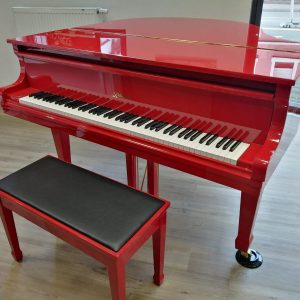 Piano Stark Klavier in rot